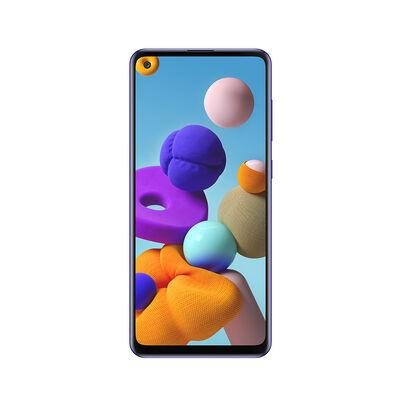 "Celular Samsung Galaxy A21s 64GB 6,5"" Azul Liberado"