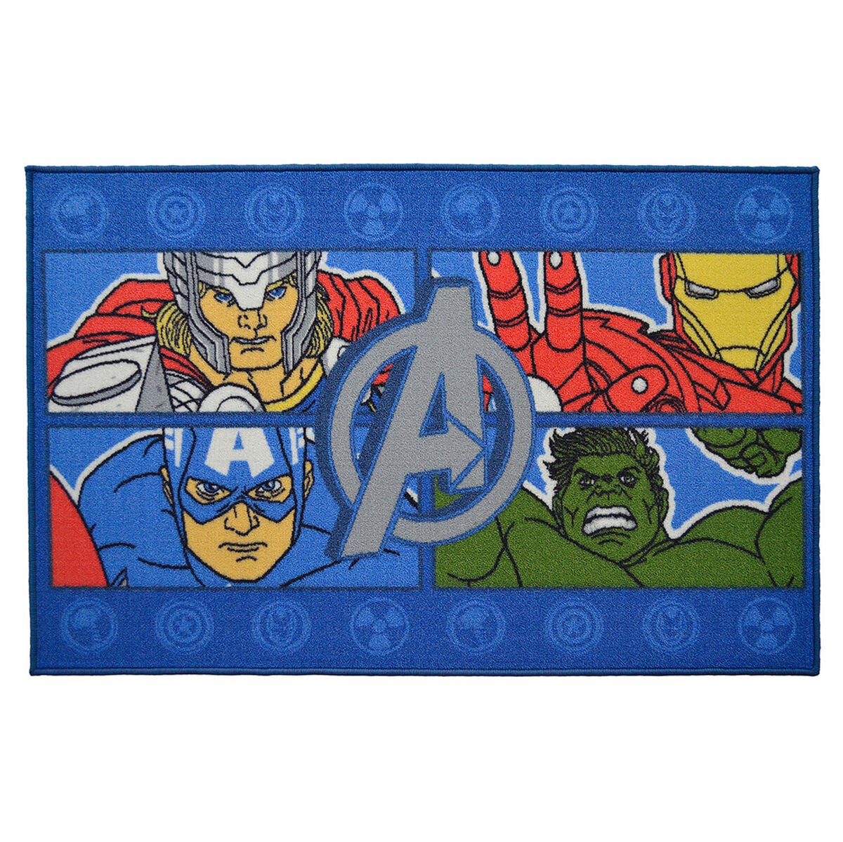 Bajada de Cama 80x120 Avengers Four Power Marvel