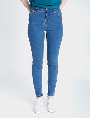 Jeans Indigo Mujer Icono Push Up