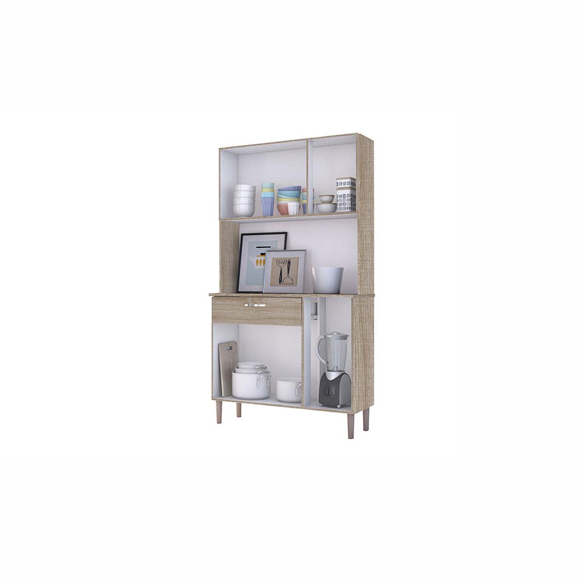 Mueble Organizador De Cocina Pan 6 Cajones