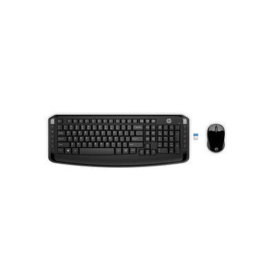 Combo Teclado + Mouse HP 300 Wireless