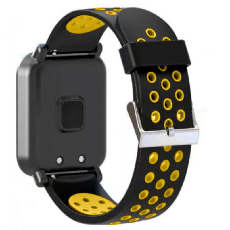 44a826f09b63 Reloj Deportivo Smartwatch Lhotse SW55 Amarillo
