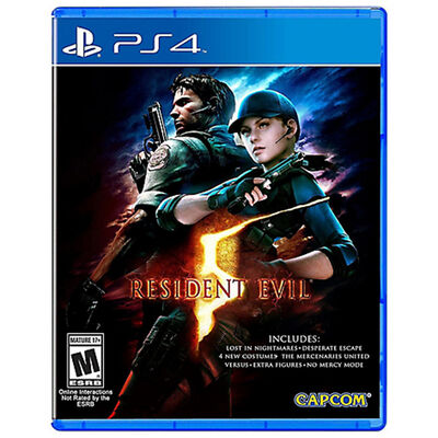 Juego PS4 Resident Evil 5 HD