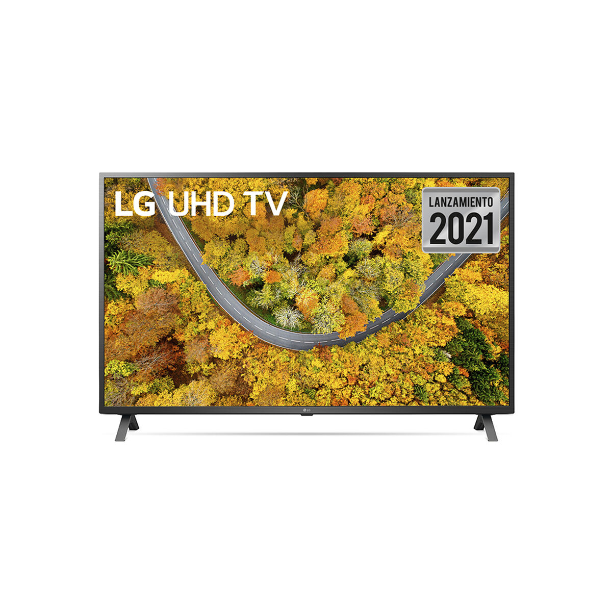"LED 55"" LG 55UP7500PSF Smart TV 4K UHD 2021"