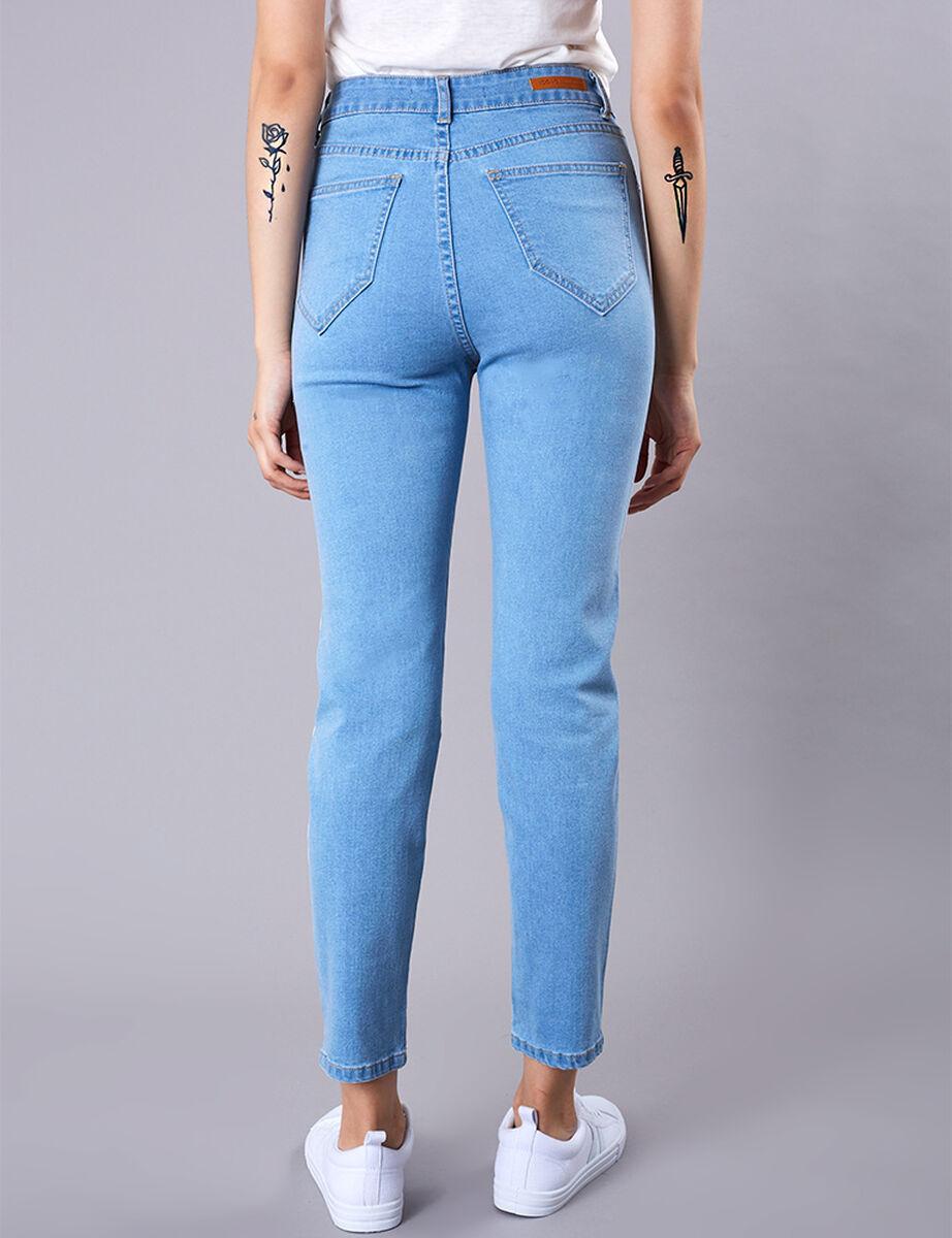 Jeans Líneas Icono