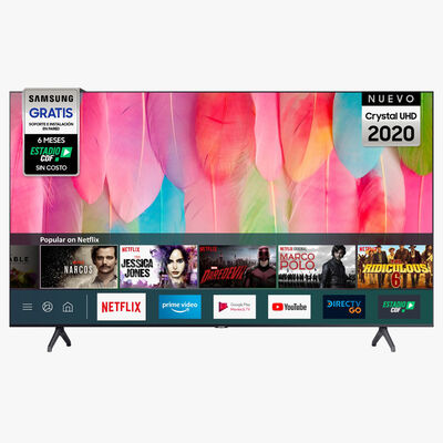 "LED 65"" Samsung UN65TU7100 Smart TV 4K Ultra HD"