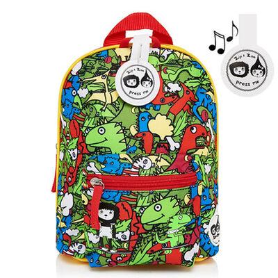 Mochila Colores Zip Zoe Dino Mini Backpack