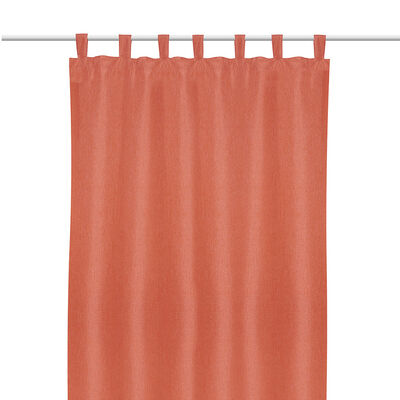Cortina Blackout Mate Presilla (1Pc) 140X220 Cm Terracota