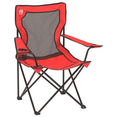 Silla de Camping Coleman Broadband Plegable Rojo