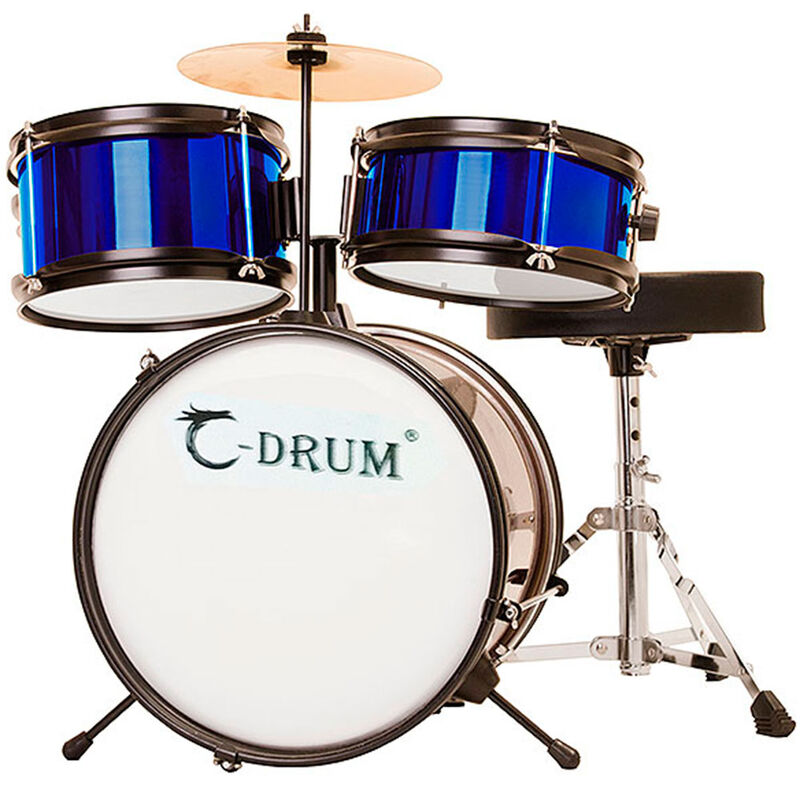Batería C-Drum Profesional de Iniciación Infantil Azul