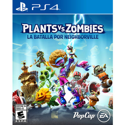 Juego PS4 Plants vs. Zombies: Battle for Neighborville