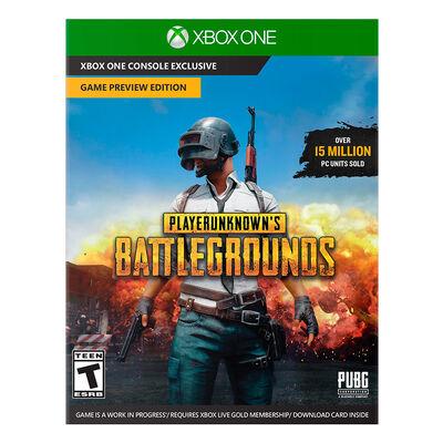 Juego Xbox One Playerunknown's Battlegrounds