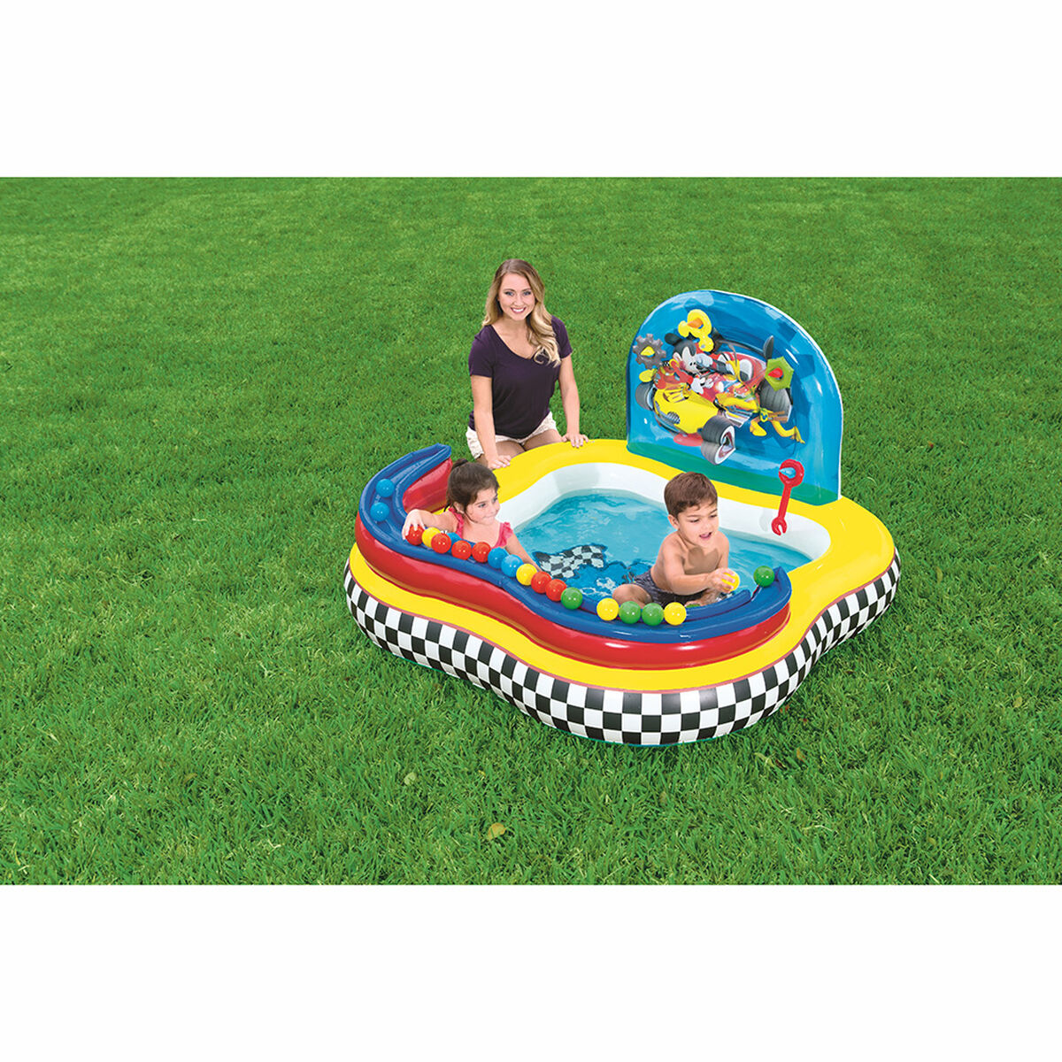 Piscina Interactiva Bestway Mickey