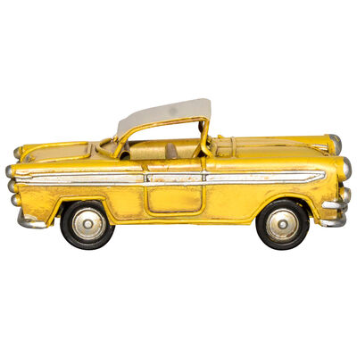 Adorno Auto Mini Amarillo