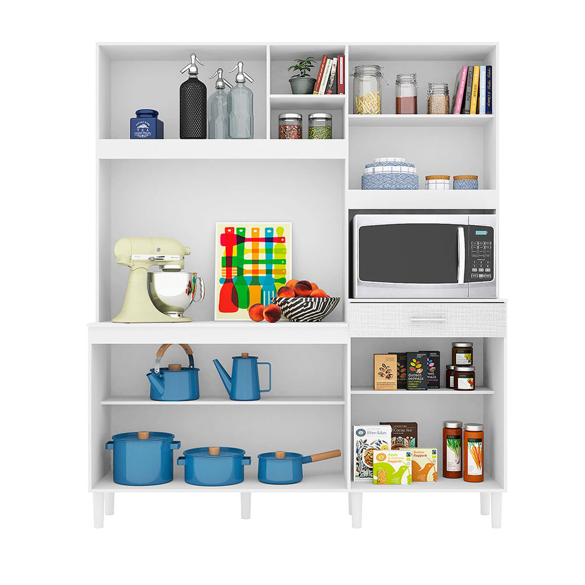 Mueble de Cocina White