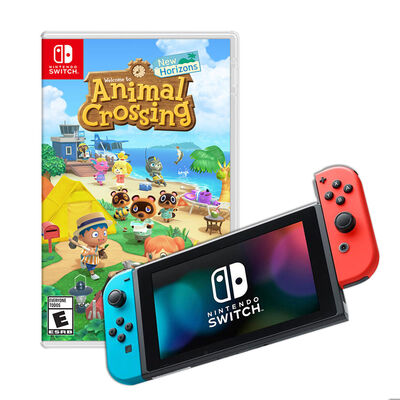 Nintendo Switch + Juego Animal Crossing