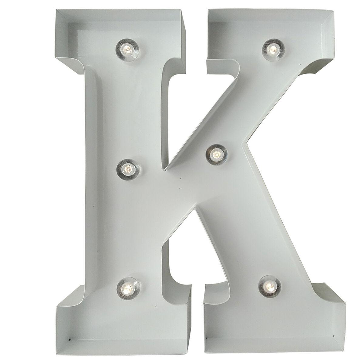 Letra Metálica Led K