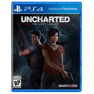 Juego PS4 Uncharted The Lost Legacy