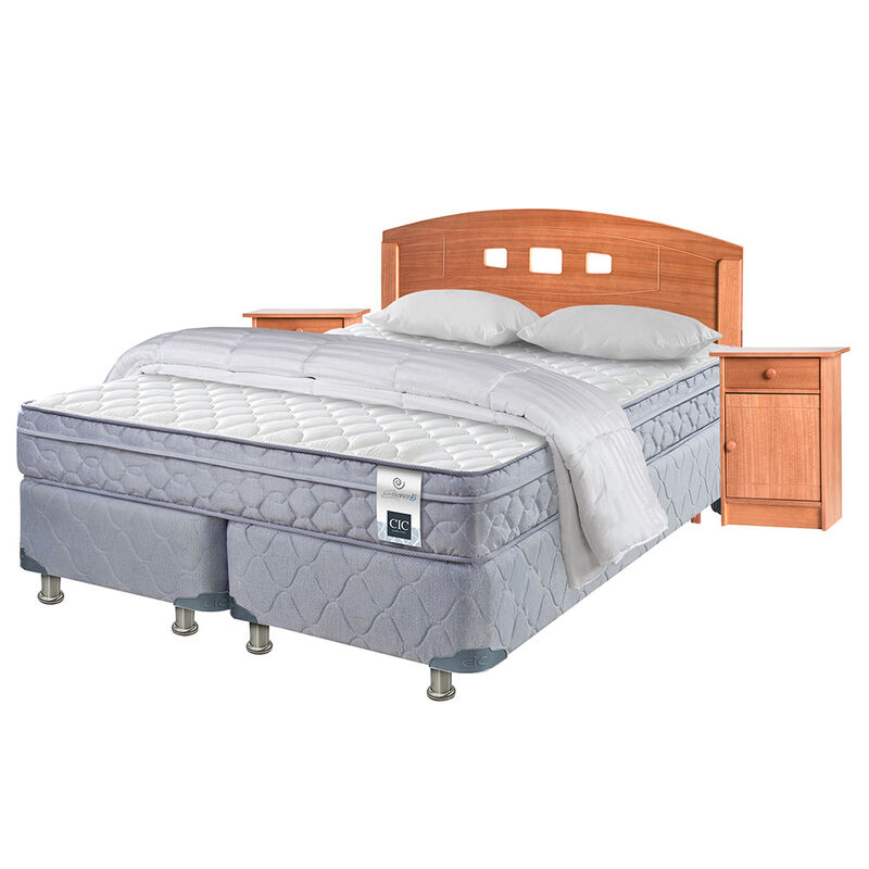 Box Americano 2 Plazas B/D CIC Essence 5+Set Gales+Textil