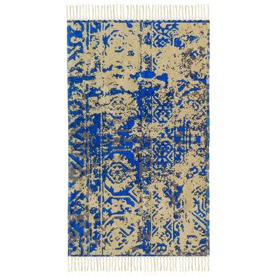 Alfombra Cotton Vintage 70 X 230 Cm Light Blue