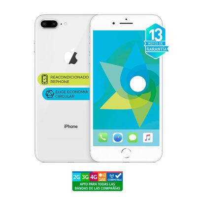 """Celular Apple Iphone 8 Plus 64GB 5.5"""" ReacondicionadoPlata Liberado"""
