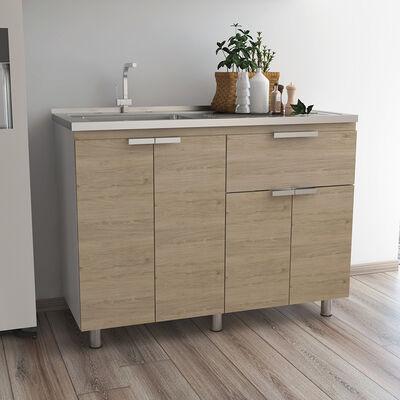 Mueble Inferior con Lavaplatos Tuhome Fendi