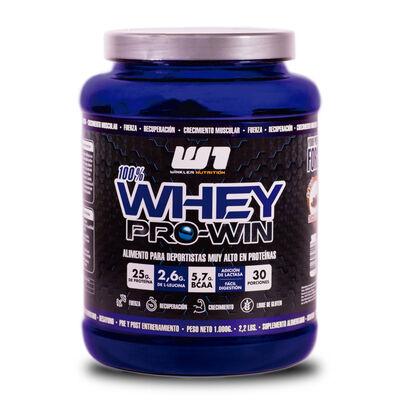 Proteína Whey Pro Win Menta Chips 1 Kg. 30 Servicios