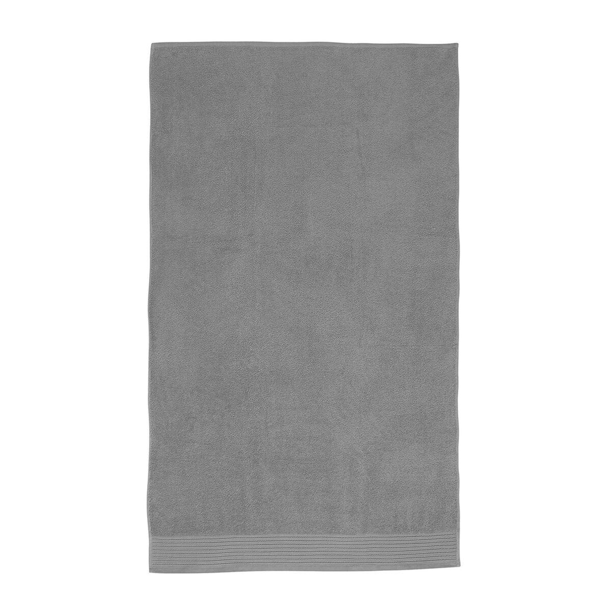 Toalla de Mano Mashini Liso 500 grs Gris 45 x 80 cm