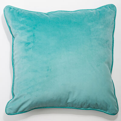 Cojín Velvet Aqua 45X45 cm