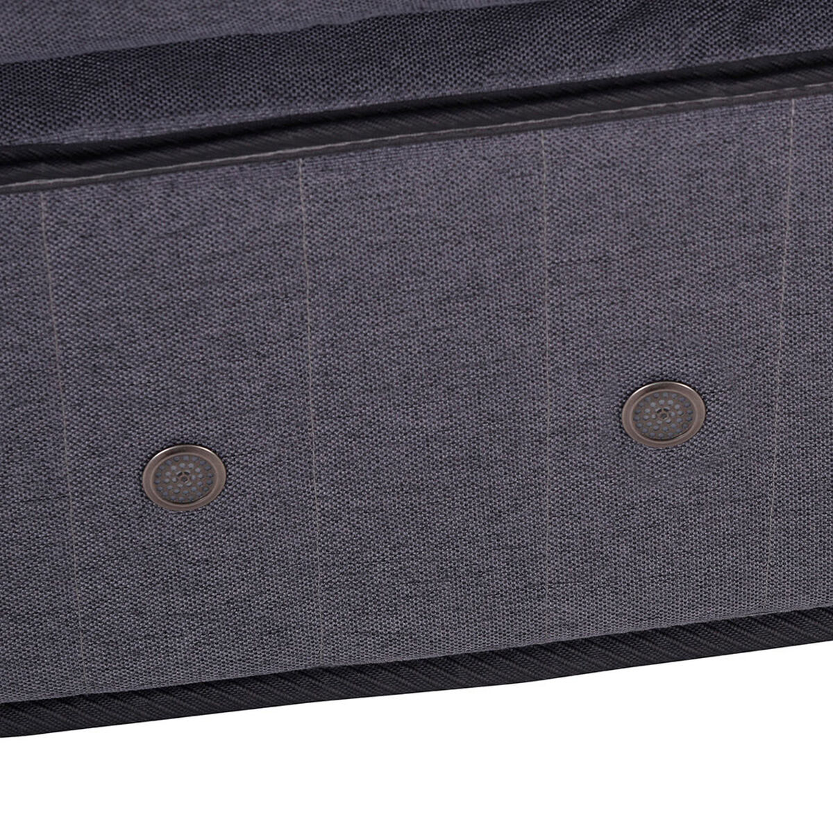Box Spring Gran Premium CIC 2 Pl Div + Set Maderas Miro