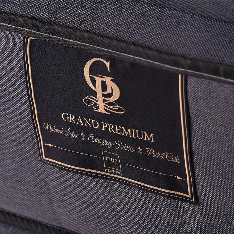 Box Spring Gran Premium CIC King + Set Maderas Miro