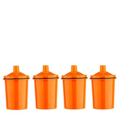 Pack 4 Filtros de Jarro Purificador Agua Dvigi Naranja