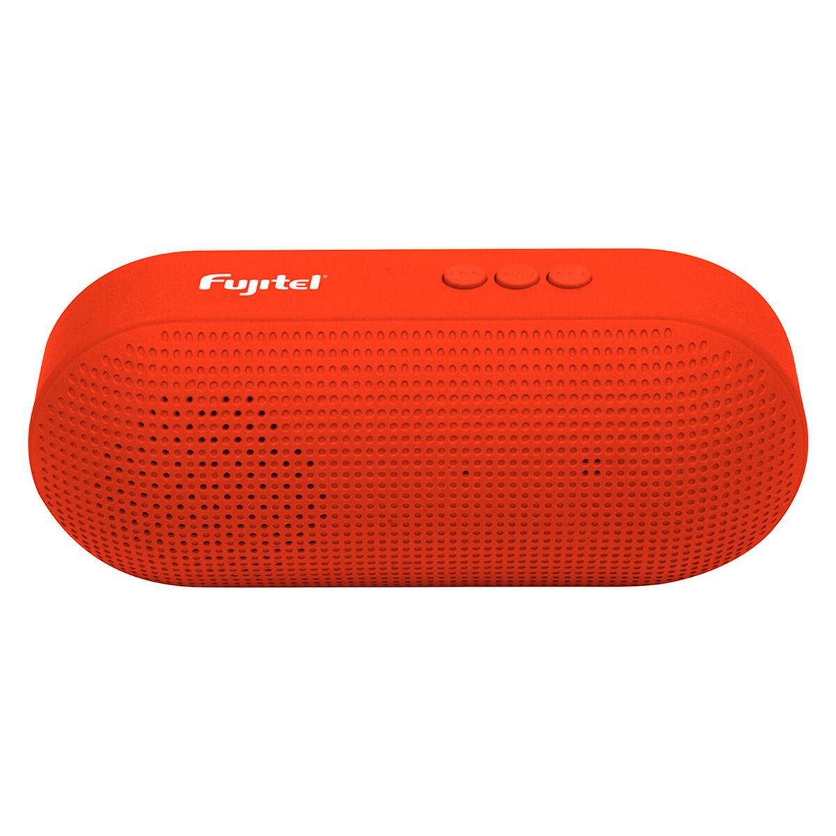 Parlante Bluetooth Fujitel Speaker Rojo