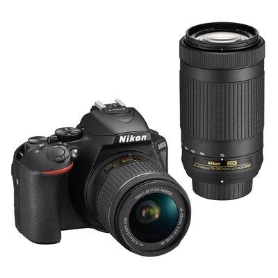 Cámara Réflex Nikon D5600 + Lente 70-300 mm