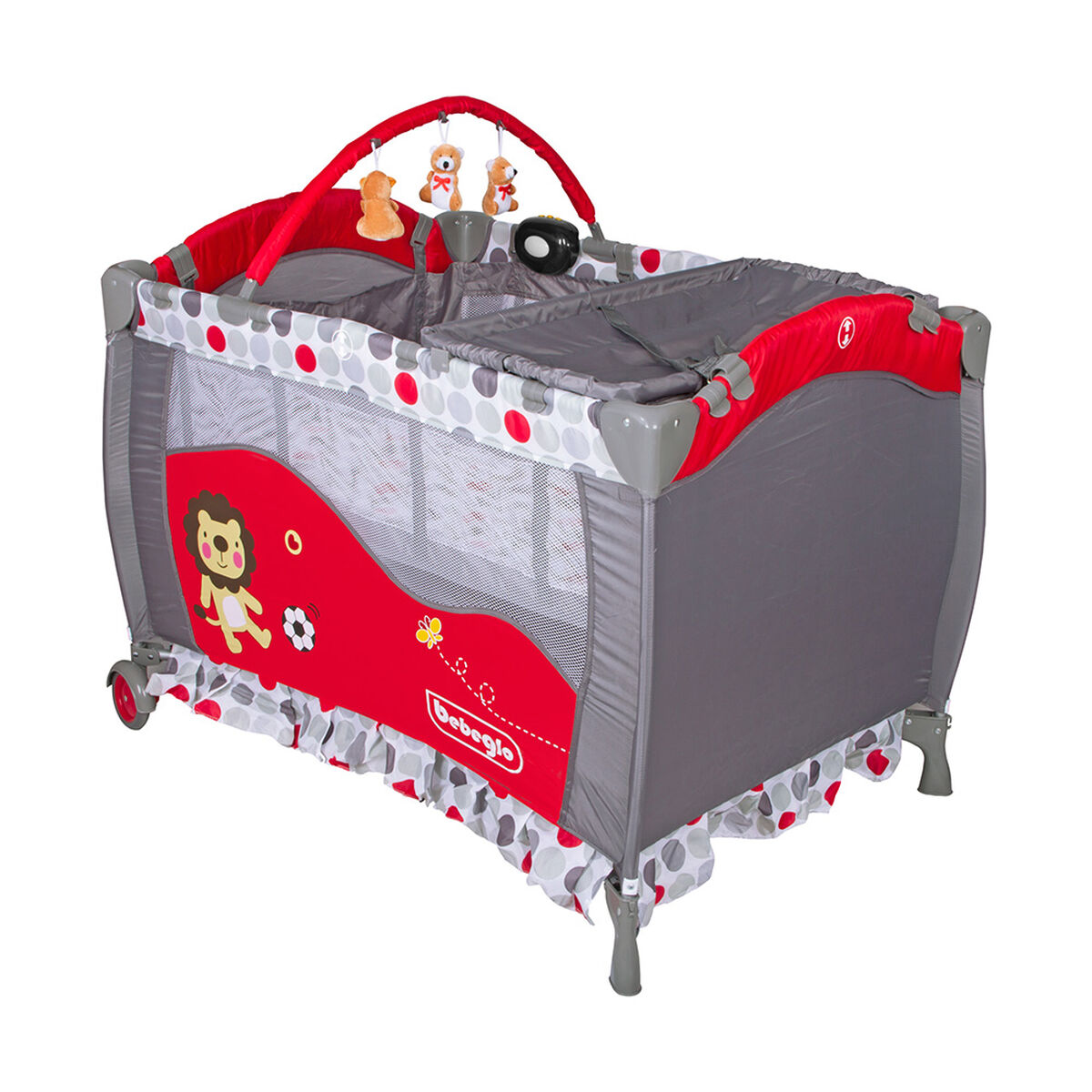 Cuna Corral Pack & Play RS-6190-6 Rojo