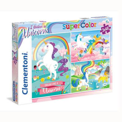 Juego de mesa Clementoni I Believe in Unicorns