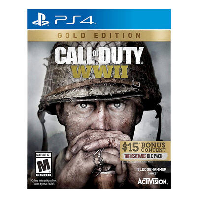 Juego Playstation 4 Call of Duty: WWII (Gold Edition)