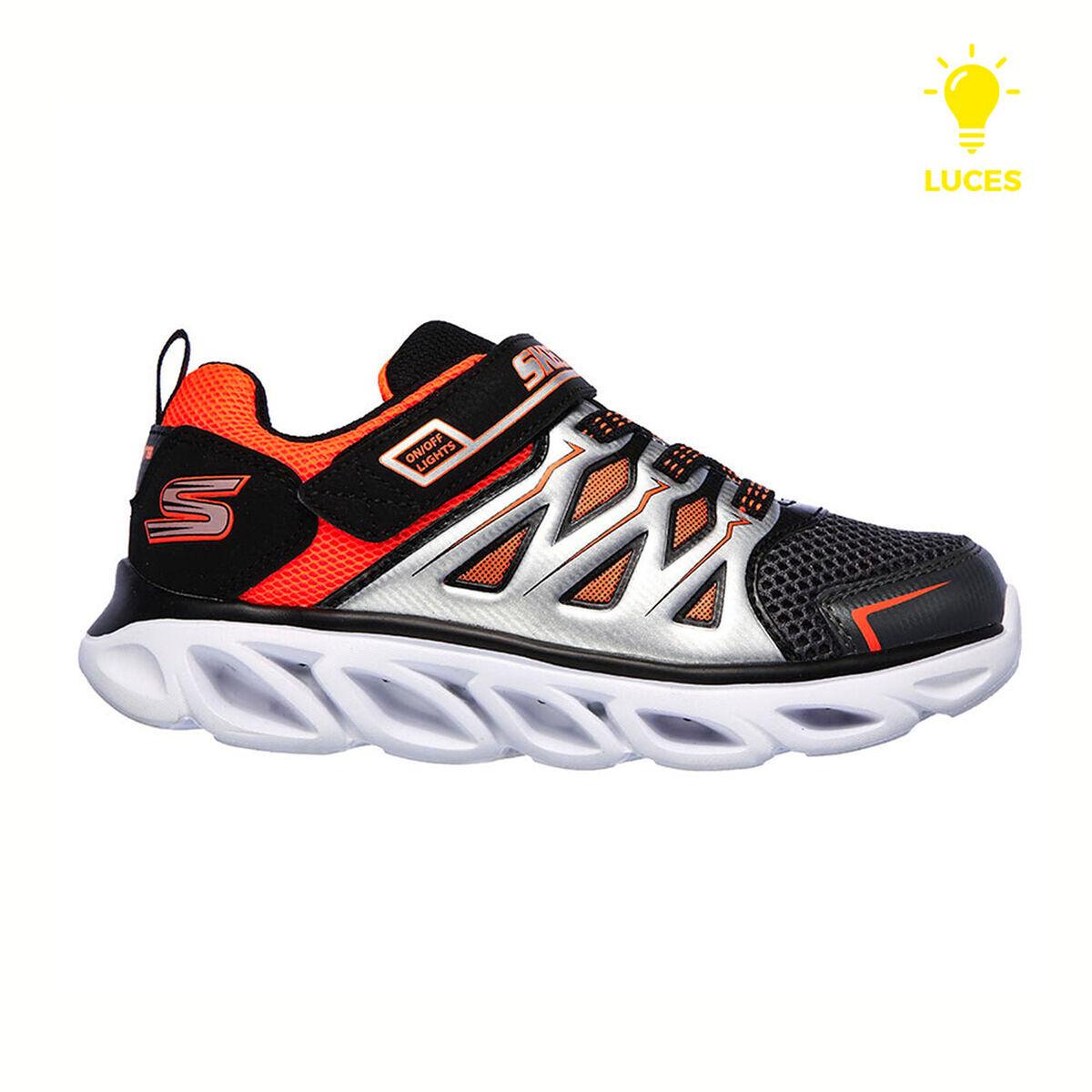 Zapatilla Con Luces Niño Skechers