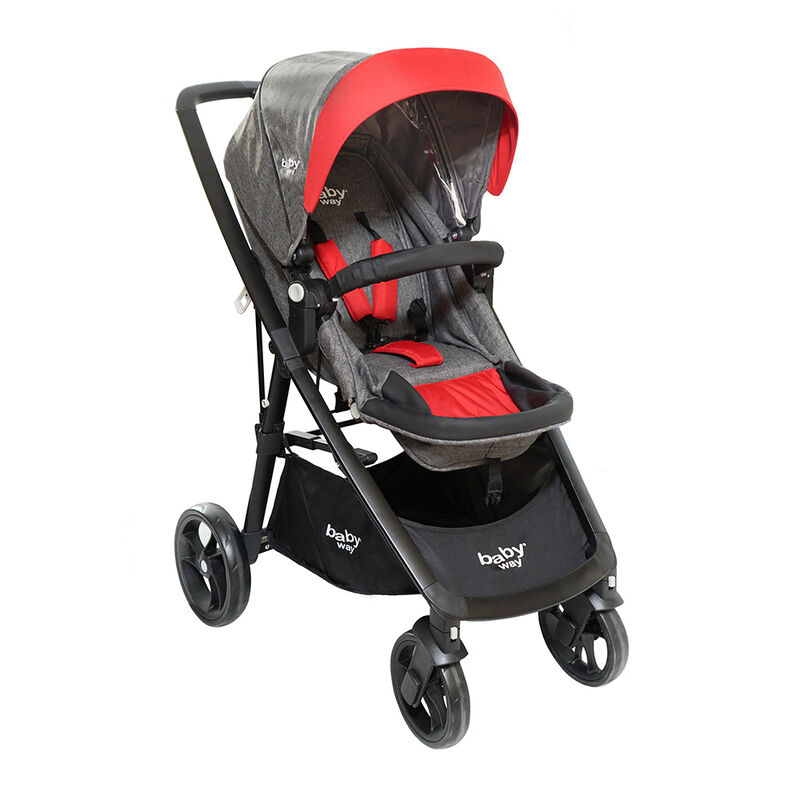 Coche Travel System Baby Way BW 412R18