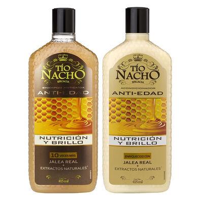 Pack Tío Nacho Jalea Real Shampoo + Acondicionador