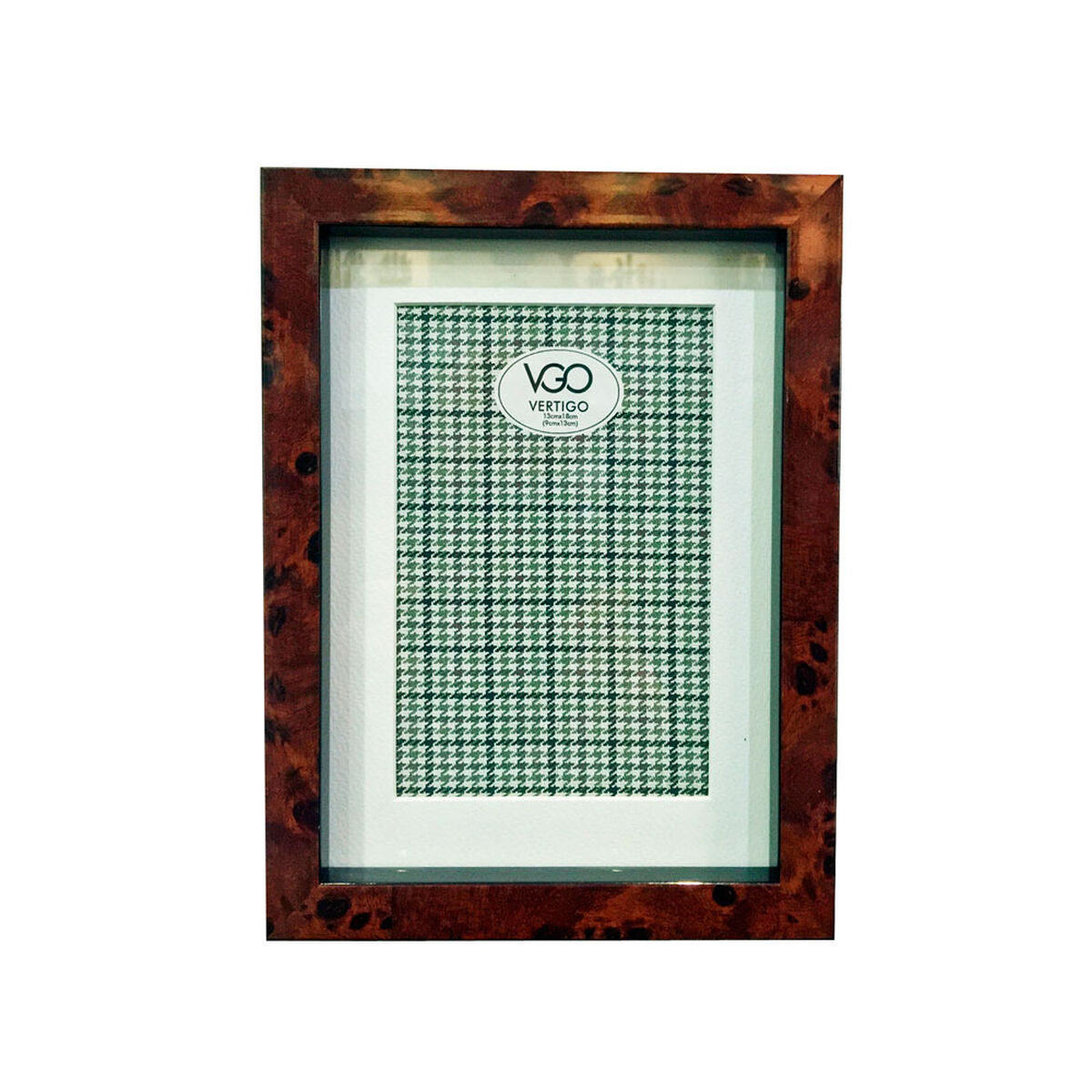 Portaretrato VGO Linea Hombre 13x18 cm Café