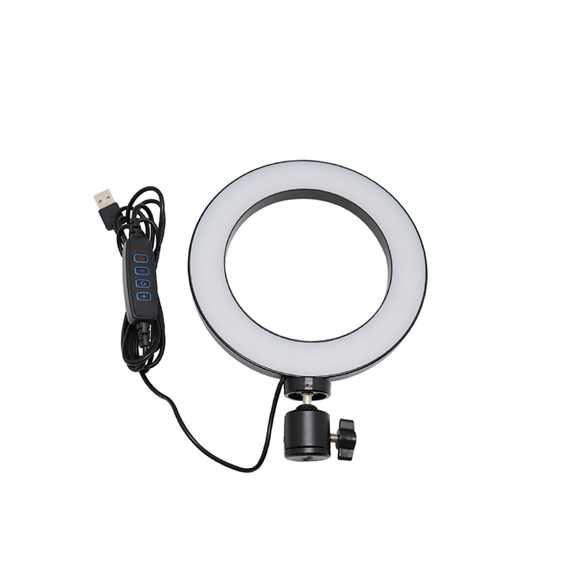 "Kit Selfie Njoytech NJK-TRP10P Trípode + Aro LED 10"" + Soportes Celular"