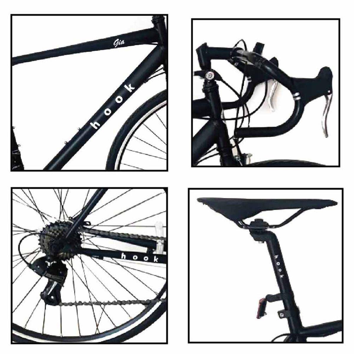 Bicicleta de Paseo Hook Gia Aro 20