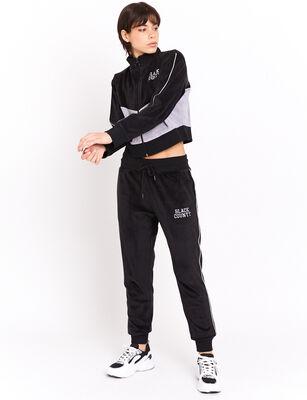 Pantalón de Buzo Deportivo Mujer Black County