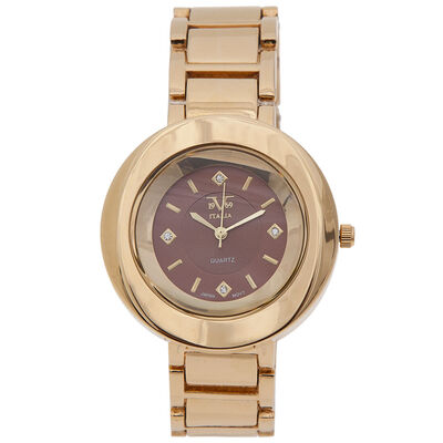 Reloj Pulsera Versace 19v69-062-3 Dorada Mujer Análogo