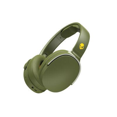 Audífonos Bluetooth Skull Candy Hesh3 Verde Musgo