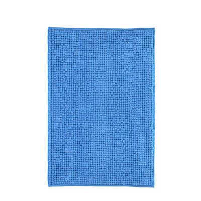 Piso de Baño Mashini Shaggy Azul 40 x 60 cm