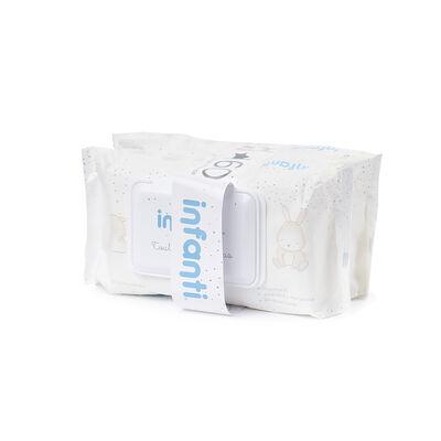 Toallita Humeda Bebe Pack 2 X 80Un Fliptop