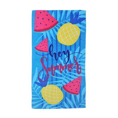 Toalla de Baño Mashini Summer Velvet Estampada 70 x 150 cm
