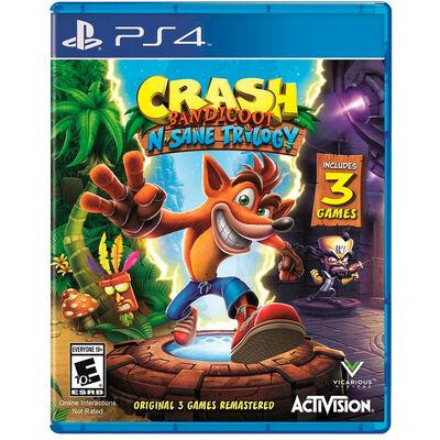 Juegos Crash Bandicoot N. Sane Trilogy PS4